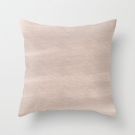 Chalky background - beige Throw Pillow