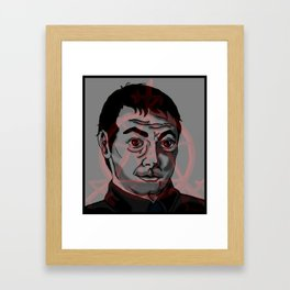 Crowley with Devil Trap  Framed Art Print