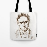 fitzgerald Tote Bags featuring Fitzgerald by Hash