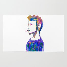 Jonah- Water Color Painting Rug