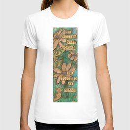 Be Filled with Wonder, Be touched by Peace T-shirt