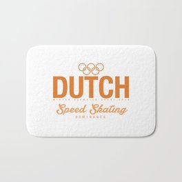 Dutch - Speed Skating Bath Mat