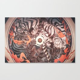 Strife Canvas Print
