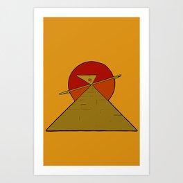 The Self Knows Art Print