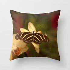 Natures Flutter Throw Pillow