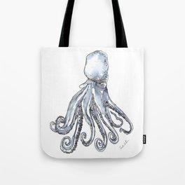 Octopus Watercolor Sketch Tote Bag