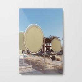 Palm Springs Pool Day VIII Metal Print