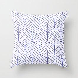 ZADA ((berry blue)) Throw Pillow