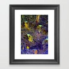 Citadel beneath the Web  Framed Art Print