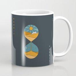 Rabbit Rabbit Hourglass Coffee Mug