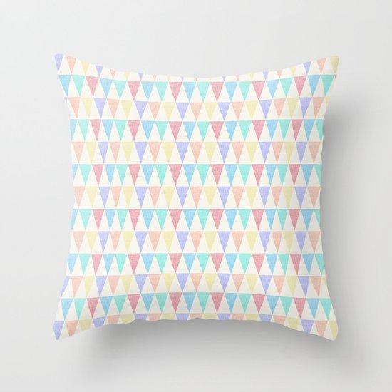 Tri∆ngle Throw Pillow