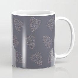 Golden Hearts Pattern#2 Coffee Mug