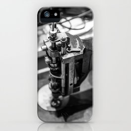 Portrait of a Seamstress: Kenneth iPhone Case