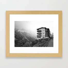 Murren Swiss Landscape Framed Art Print