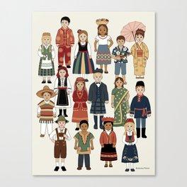 Internatonal Kids Canvas Print