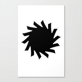 Sun 03 Canvas Print