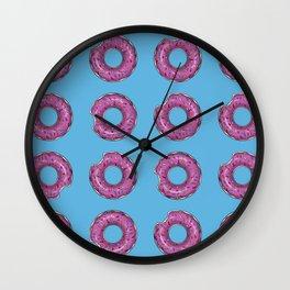 Bitten donut Wall Clock