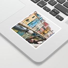 Burano in winter III Sticker