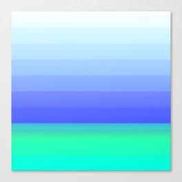 Simply Gradient Canvas Print