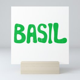 BASIL Mini Art Print