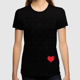 PEACE PEACE ANDLOVE T-shirt