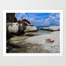 Virgin Gorda Baths Art Print