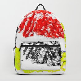 Flag of Germany 3-chalk version Backpack