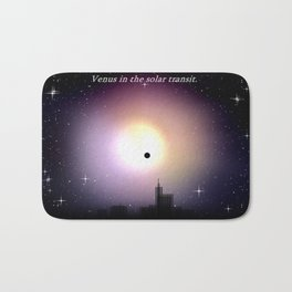 Venus in the solar transit. Bath Mat