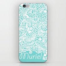 Tiffany Doodle iPhone & iPod Skin