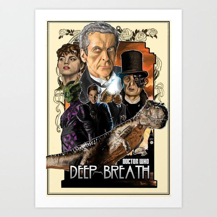 Doctor Who: Deep Breath Art Print