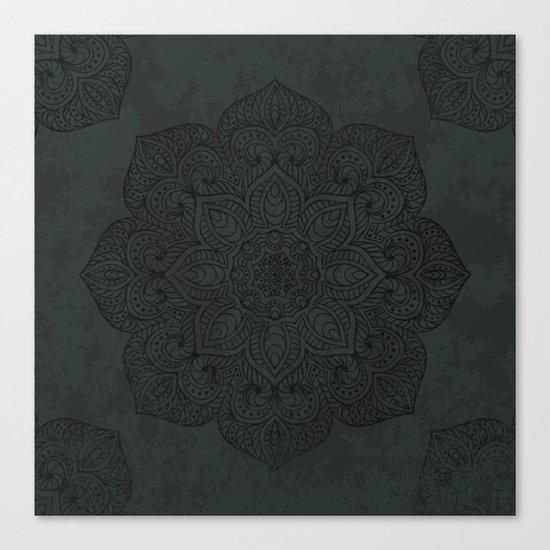 Vintage Mandala Canvas Print