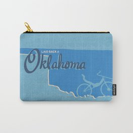 Recumbents are Laid Back in Oklahoma Carry-All Pouch