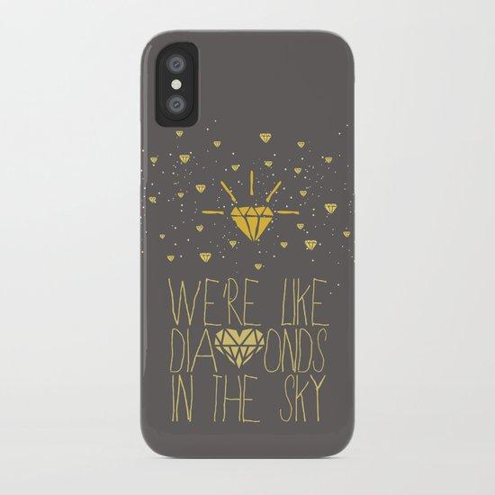 bright like a Diamond iPhone Case