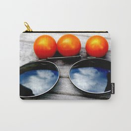 Tomato Glasses Carry-All Pouch