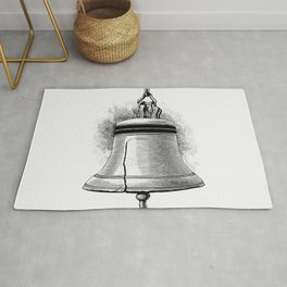 Liberty Bell from Elements of Geography Rug