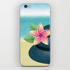 Stop and Smell the Plumeria iPhone & iPod Skin