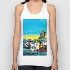 The time to think Unisex Tank Top