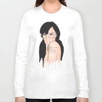 glasses Long Sleeve T-shirts featuring Glasses by Jasocorp