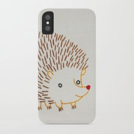 H Hedgehog iPhone Case