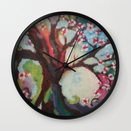 Coming into focus Wall Clock