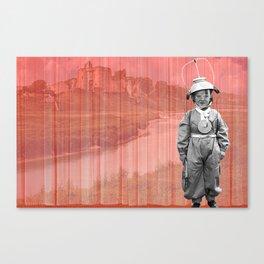 Aspiring Kidwelly Astronaut Canvas Print