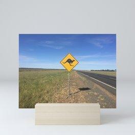 This is Australia Mini Art Print