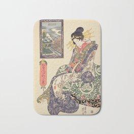 Geisha women Bath Mat