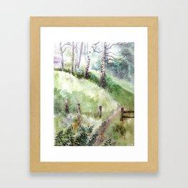Mountain Landscape 04 Framed Art Print