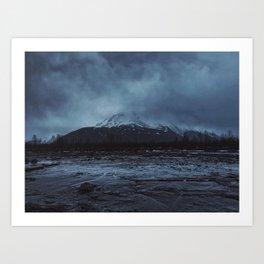 Haunted Alaska Art Print