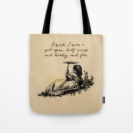 Wuthering Heights - Emily Bronte Tote Bag