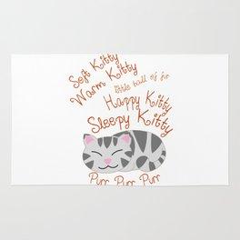 Soft Kitty Warm Kitty Sleeping Rug