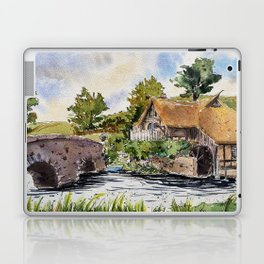 New Zealand, movie set   Watercolor Laptop & iPad Skin
