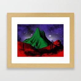 Painting in the Dark Framed Art Print
