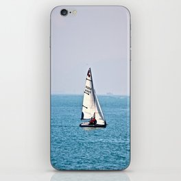 Sailboat (Stanley, Hong Kong)  iPhone Skin